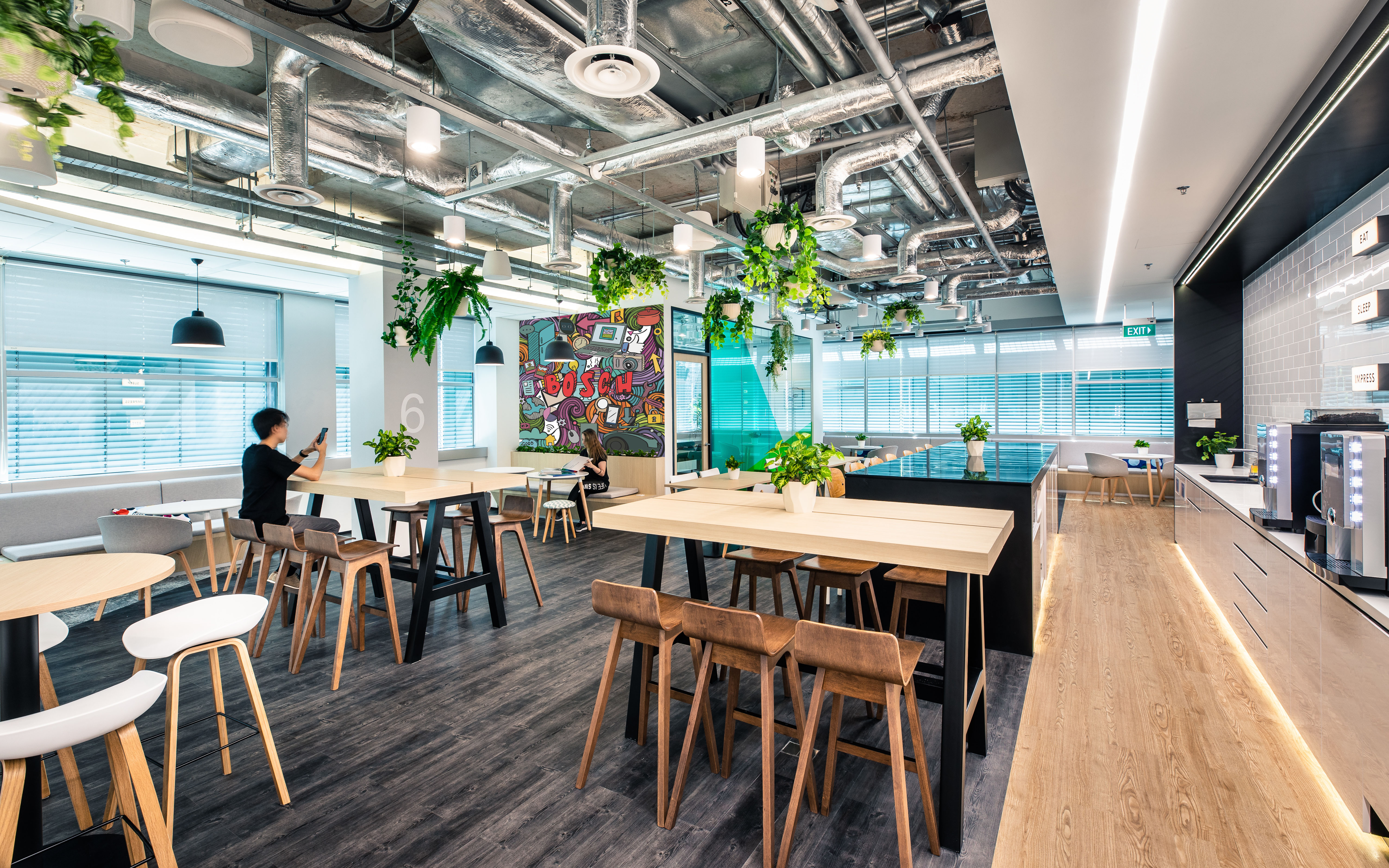 Lounge Bosch Singapore campus