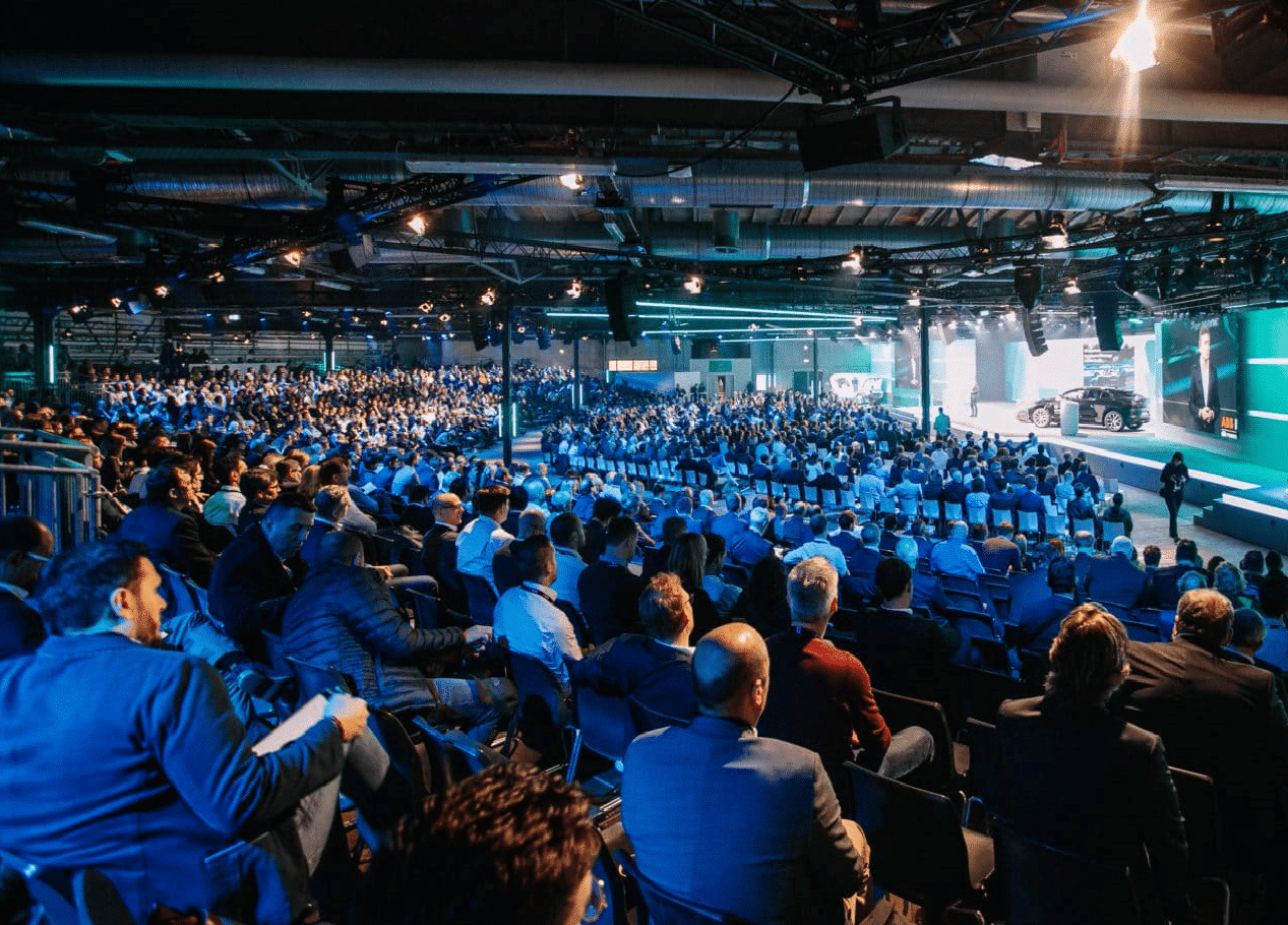 Stage A at Bosch ConnectedWorld.