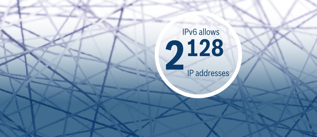 Why Bosch rigs up IPv6