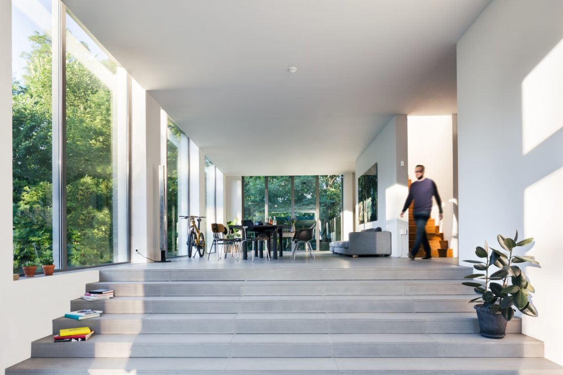 Entrance of a smart home.