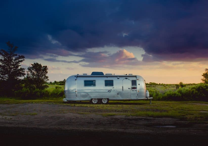 Why the caravan is the new garage
