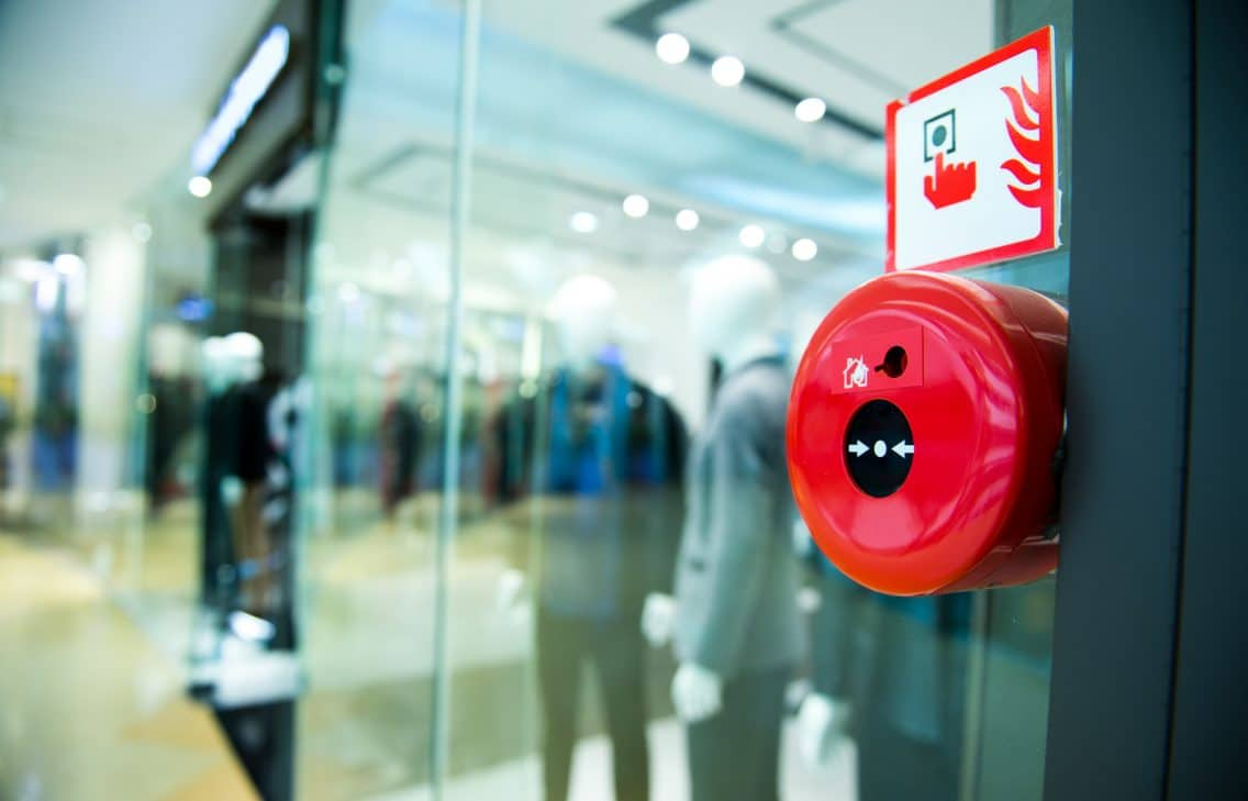 emergency exit fire alarm security protection building