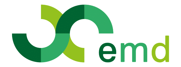 Logo of emd - enhanced, adaptive electromobility services