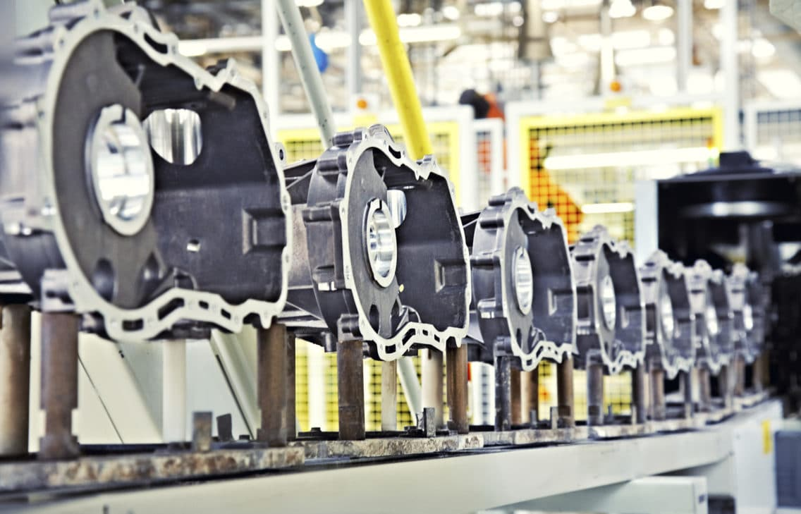 manufacturing parts for engine manufacturing production line