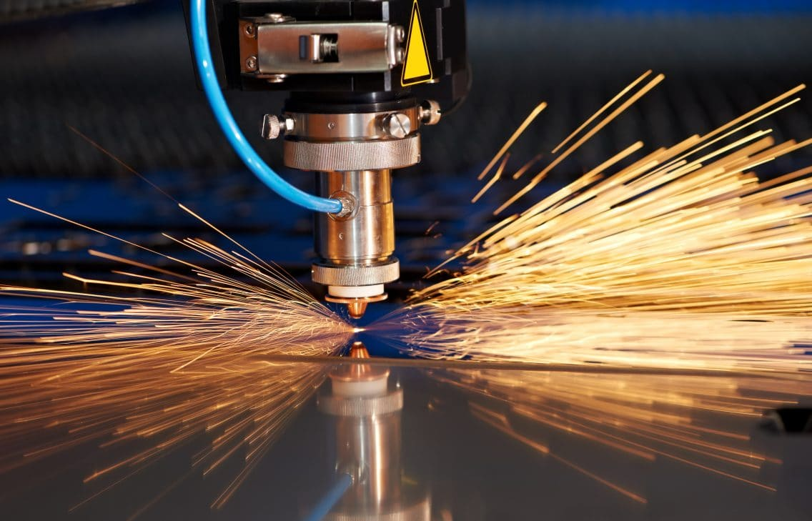 metal laser cutting industry4.0 production manufacturing