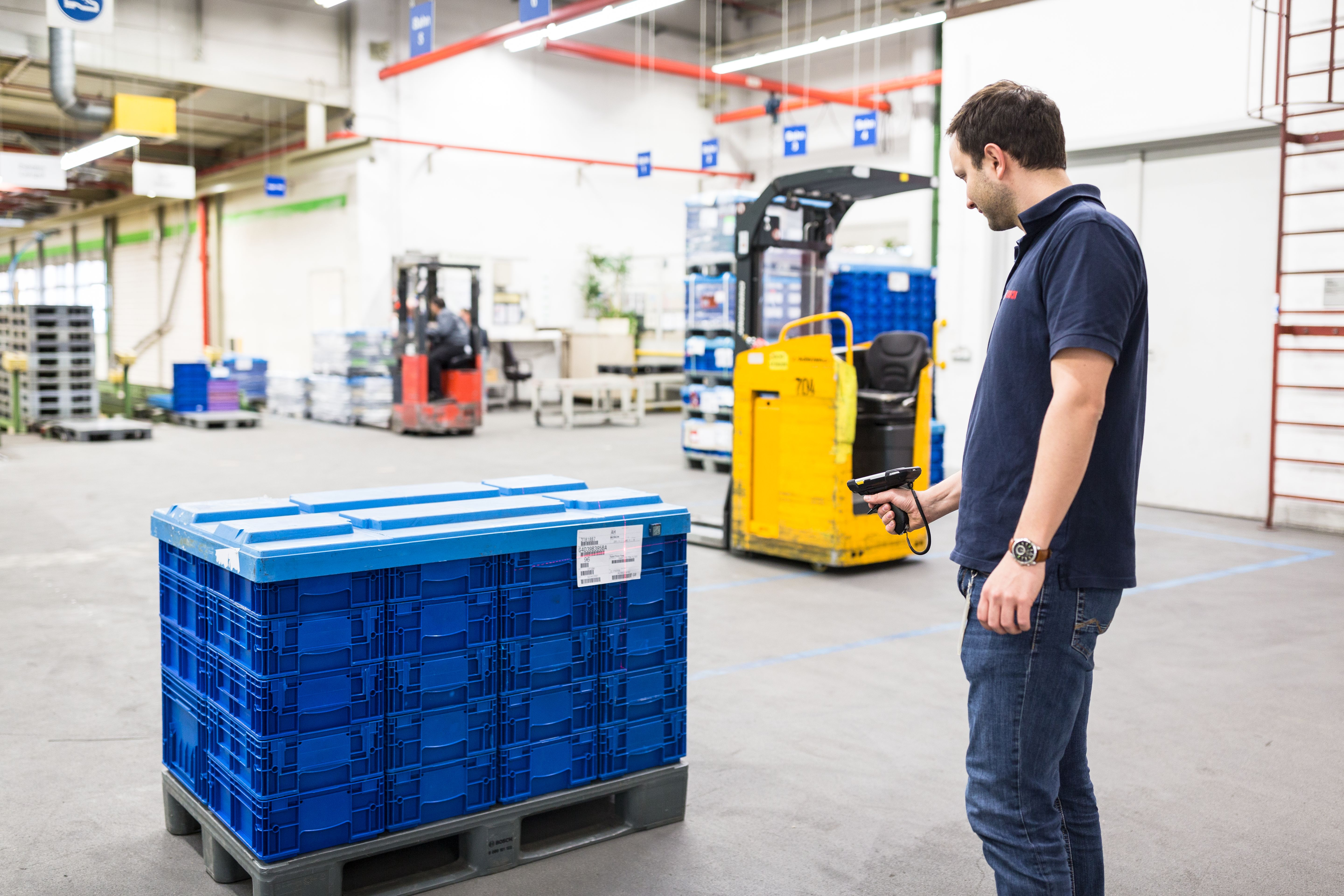 What pragmatic real-time logistics is all about - Bosch